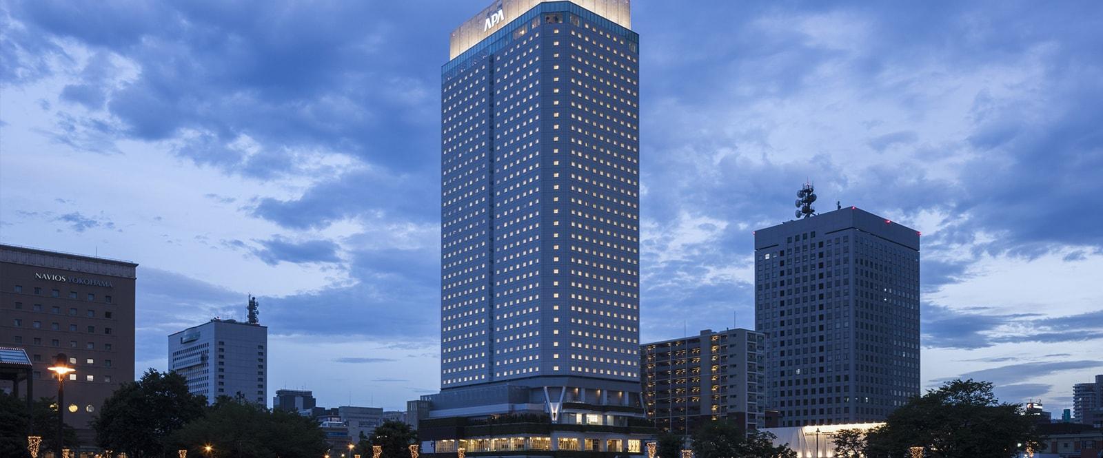 ベイタワー アパホテル 横浜